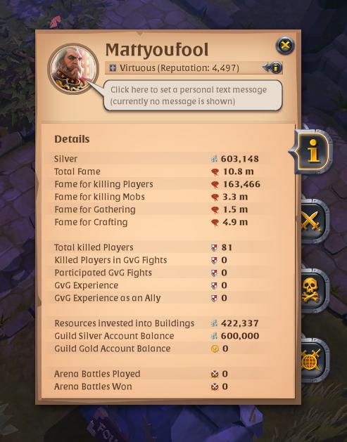 Albion Online Ganking Build