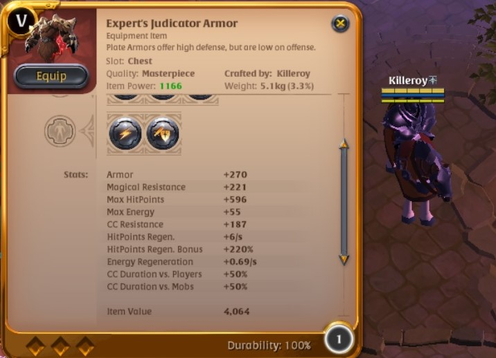 wts mastercrafted judicator - Trade - Albion Online Forum