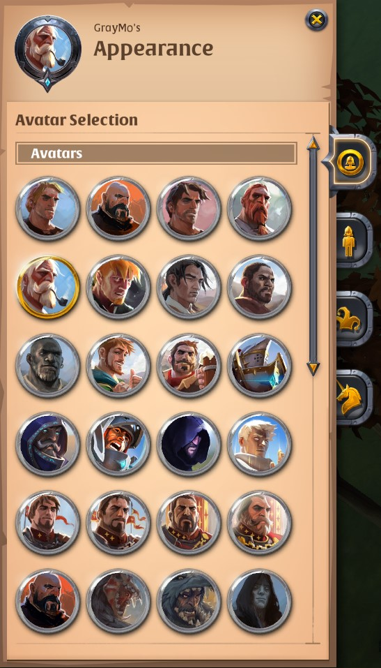 Vanity Avatars Wardrobe Emotes Developers Statements Albion Online Forum