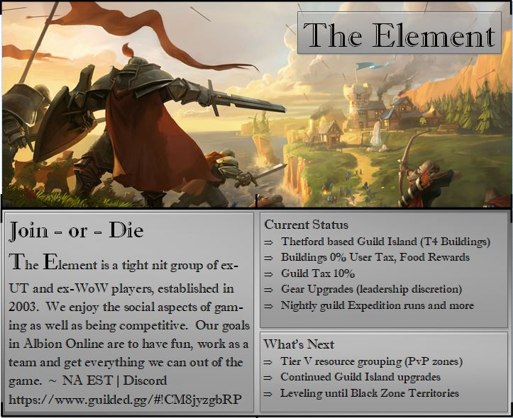 5-6 friends looking for a social and active PvX guild  - Guild