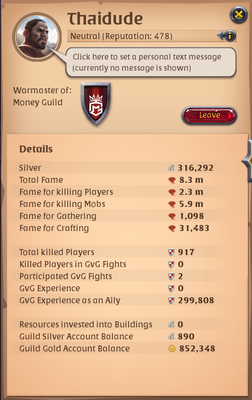 my everyday life in money guild - Forum Banter - Albion Online Forum