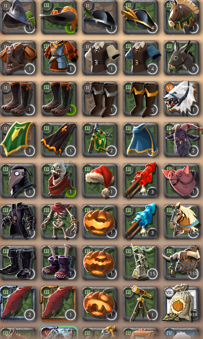 Bank Sale Vanity Items Mounts Seeds Trade Albion Online Forum